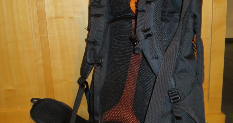 perfekter Rucksack Backpacking